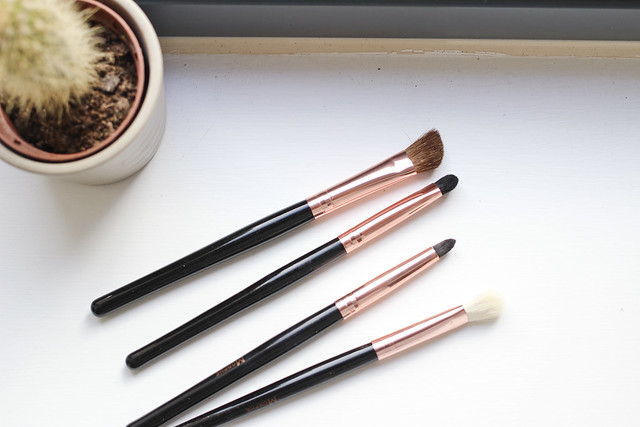 morphe rose gold collection