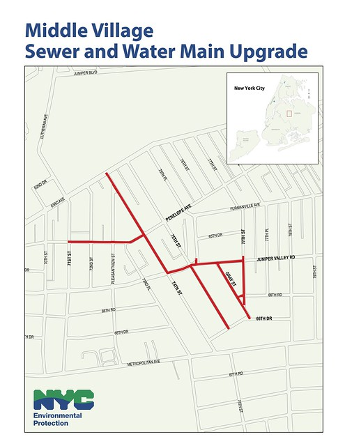 Middle Village Sewer Project