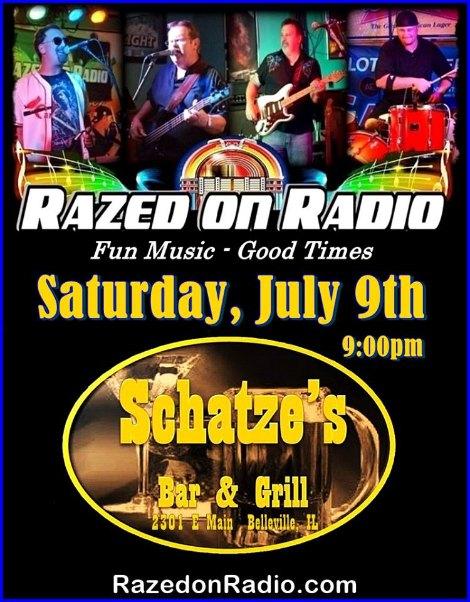 Razed On Radio 7-9-16