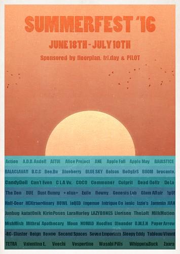 Summerfest '16 Official Line-Up!