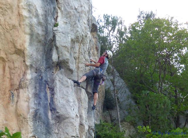 Juan Carlos Cervino - Xena, 7a+ -04- El Grau de Sant Climent, Sector B (11-09-2016)