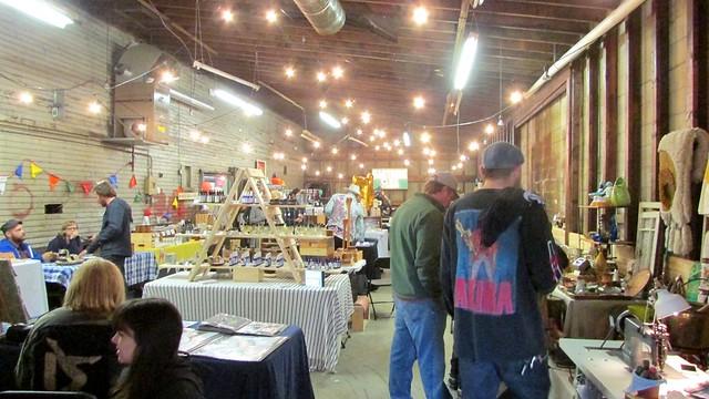 Vancouver's Eastside Flea Market