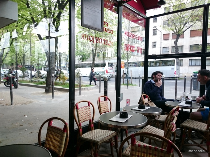 patio at La Place