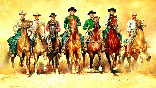 The Magnificent Seven - 1960 - Poster 4
