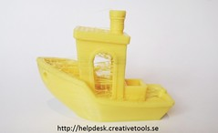 3DBenchy Stringing Example 1
