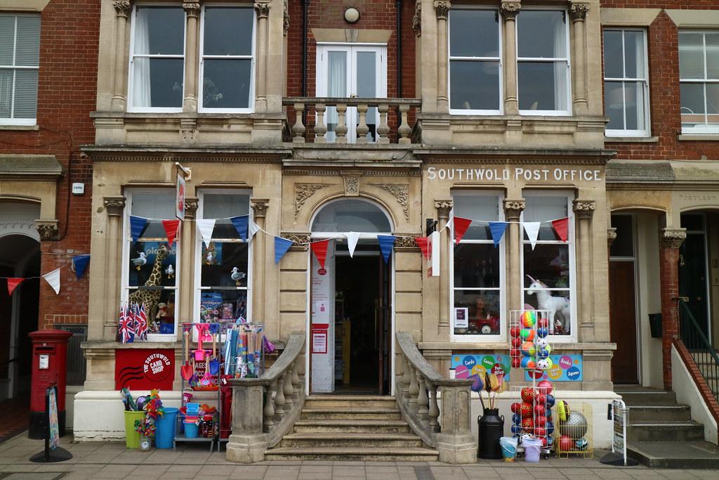 Spots Post Office Southwold
