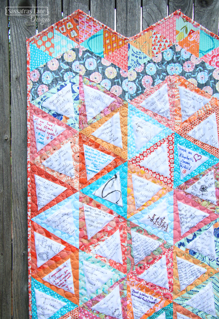 Liz & Mason's Wedding Quilt