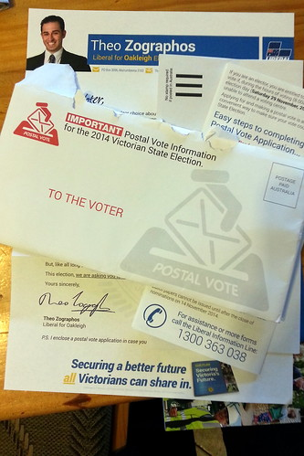 how to make a postal vote