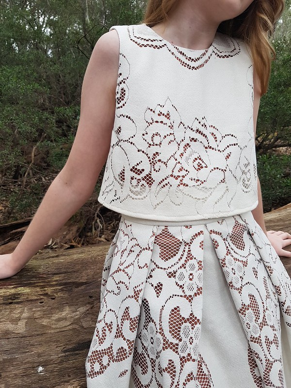 Tessuti Cut Out Lace Competition
