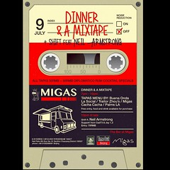 7/9 Sat - Dinner & A Mixtape comes to Beijing at MIGAS