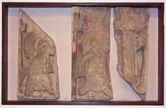 three figures (early 12th Century)