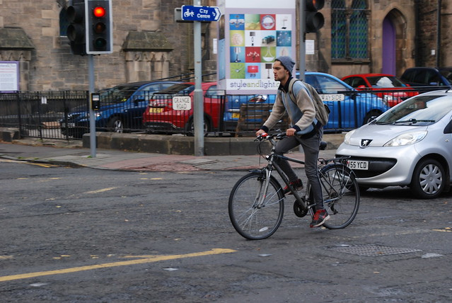 Welcome to cycle friendly Edinburgh