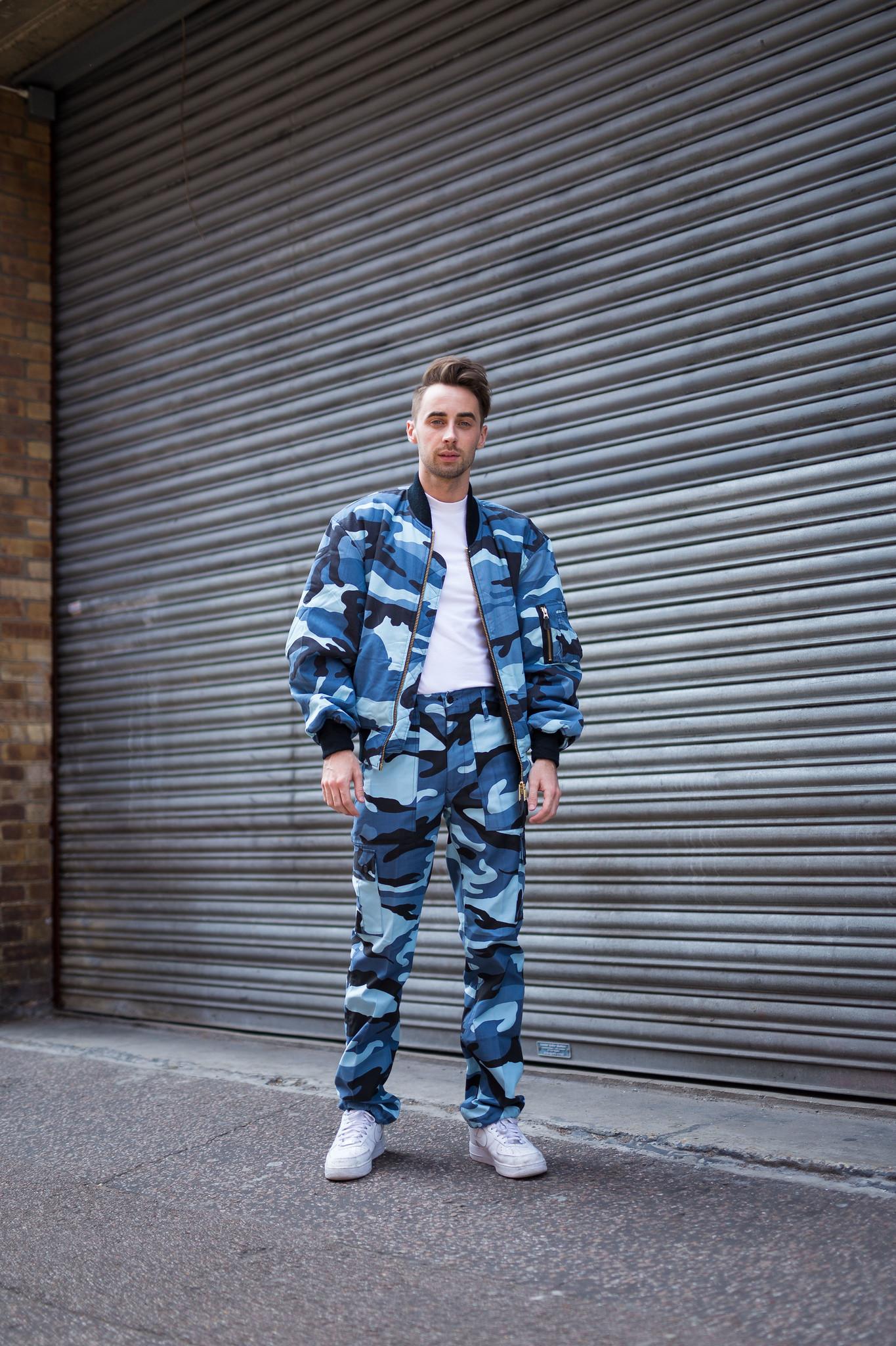 Street Style - Paul Treacy, Graduate Fashion Week