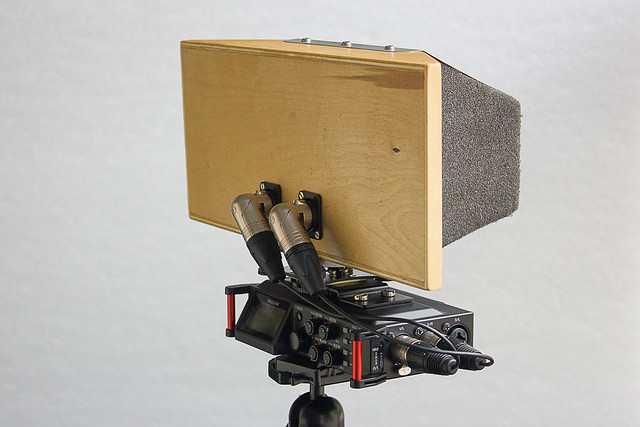 Self Contained Stereo Recording - Rear Quarter