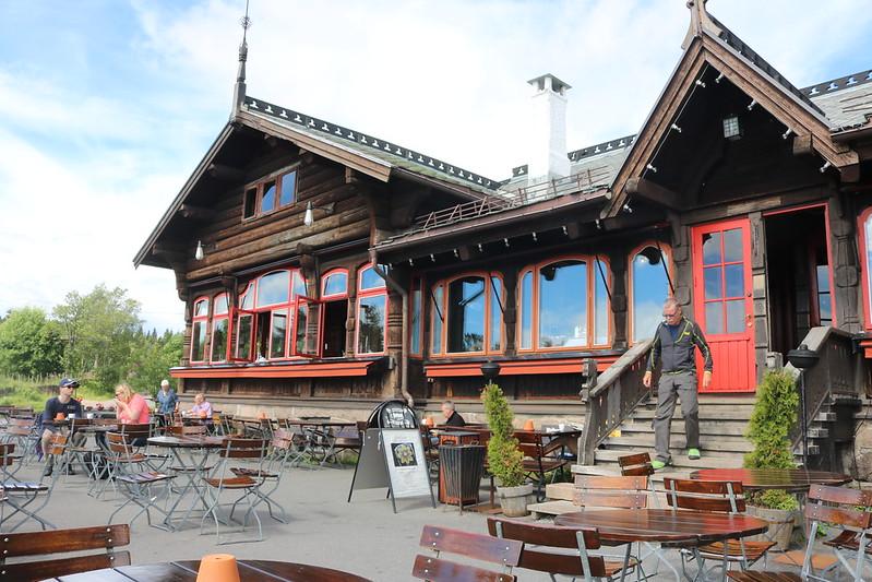 Frognerseteren cafe til Sognsvann