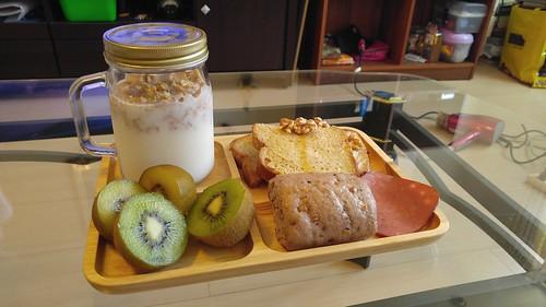 蓁妮親製美味健康早餐