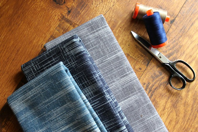 Crosshatch Textured Denims