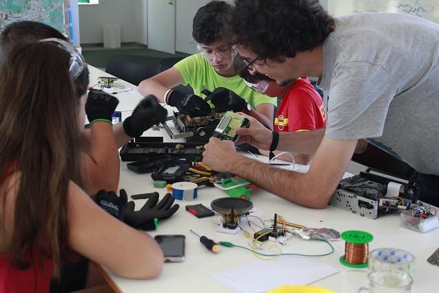 Taller Círuclo Tecnológico - Fundación Cerezales