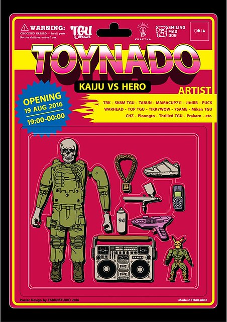 Toynado: KAIJU vs HERO