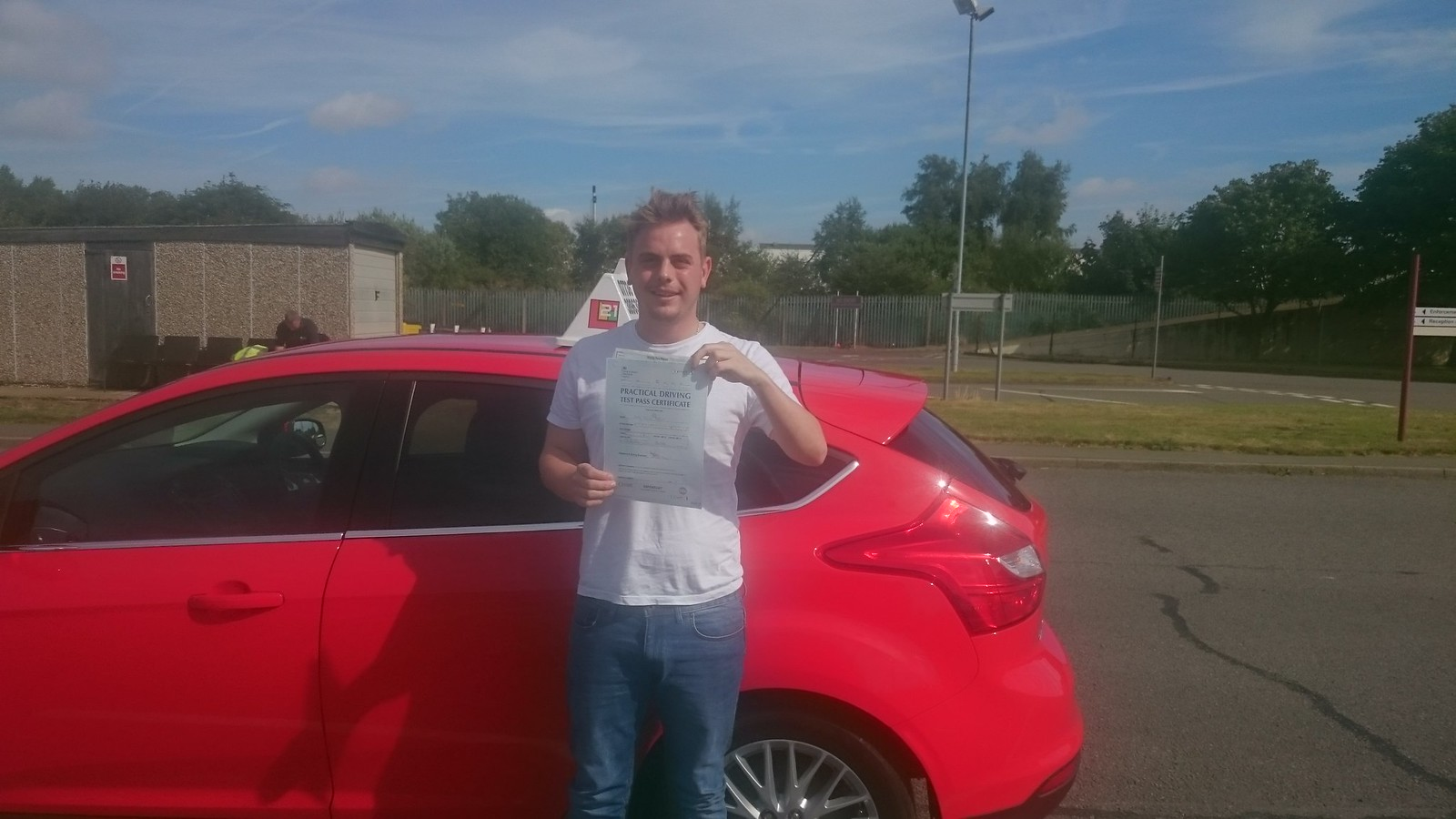 Jack Ashton passes driving test in grimsby with 21st Century Driving