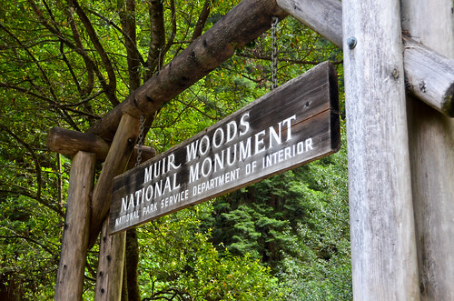 Muir Woods Sign
