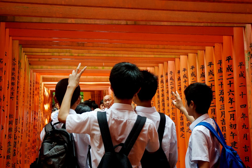 How to avoid the crowd at Fushimi Inari