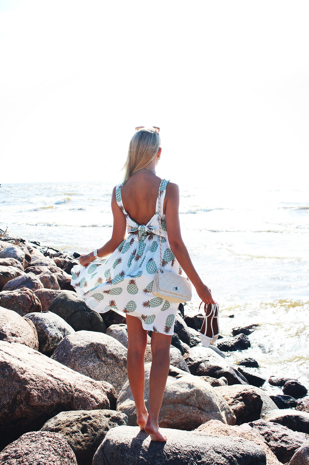 Open back dress from Zaful