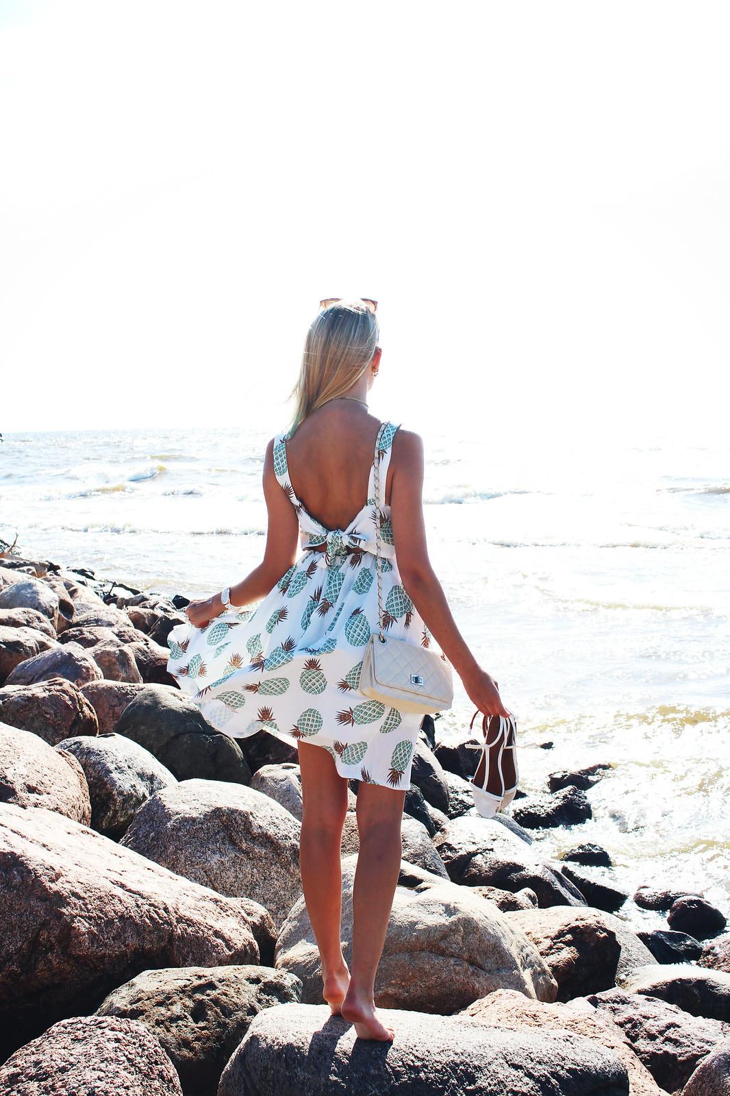 Open back dress from Zaful
