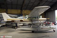 I-DROV - R1722810 - Aero Club Como - Cessna R172K Hawk XP - Lake Como, Italy - 160625 - Steven Gray - IMG_6393