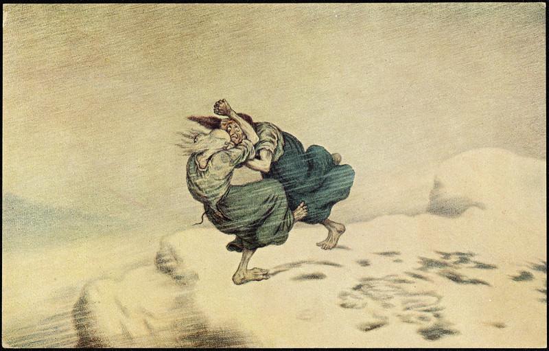Theodor Kittelsen - Troldkjærringer, 1902