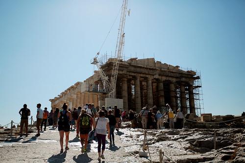 Acropoli: il Partenone