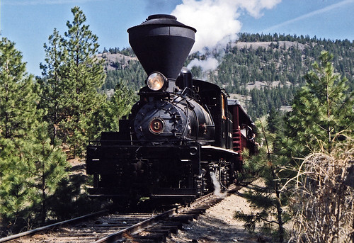 Kettle Valley steam train in the Okanogan