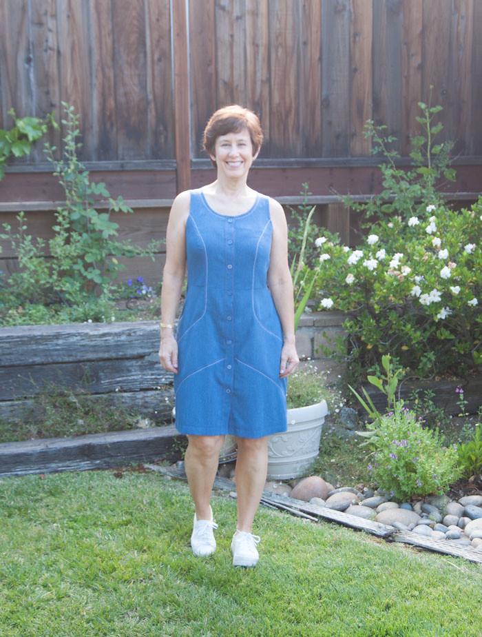 blue denim dress3