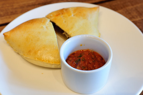 Meat Pie and House Sauce