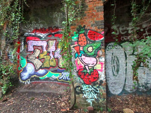 Graffiti on Parkland Walk