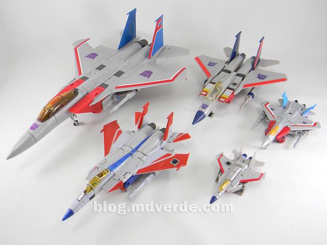 Transformers Starscream Legends - Transformers Generations Takara - modo alterno vs otros Starscream