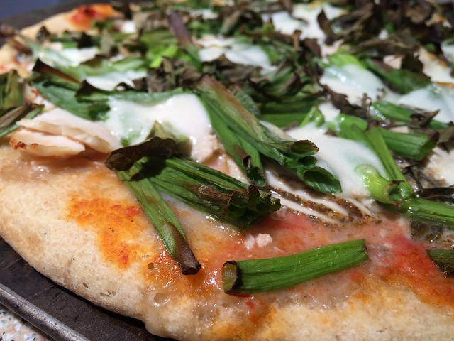 O My Green Onion Pizza