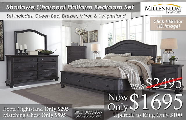 Sharlowe Millenium Bedroom Set B635 updated