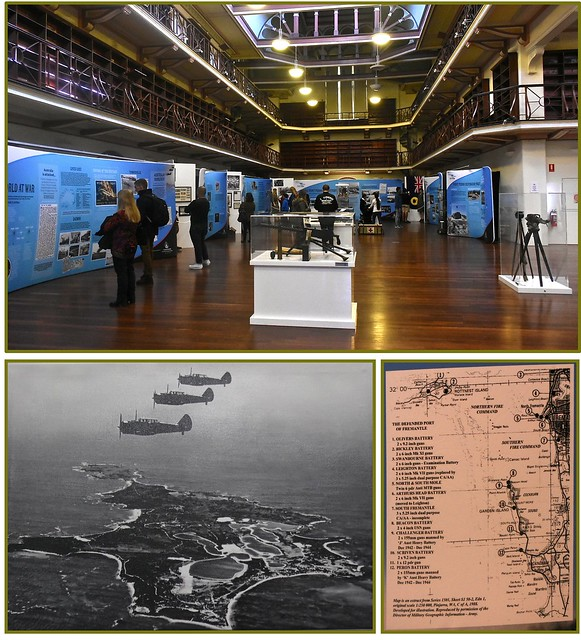 Exhibition of WW2 items with a Fremantle & Rottnest association - Old Battye Library, WA Museum, 25 May 2016