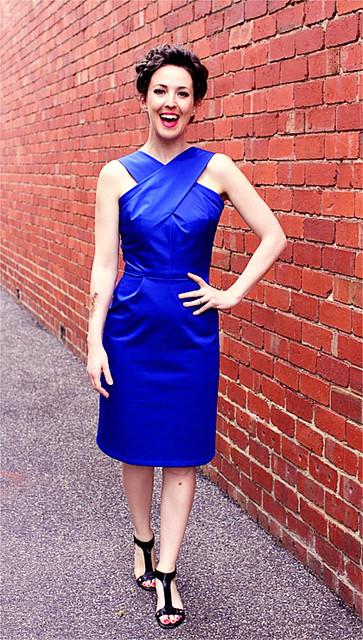 Dressmaker's Do Blue Vintage #4