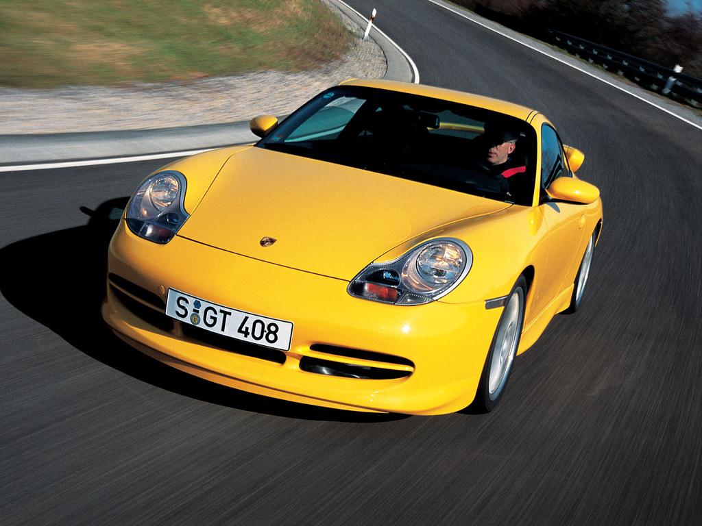 Porsche 911 GT3 (кузов 996). 1999 – 2001 годы