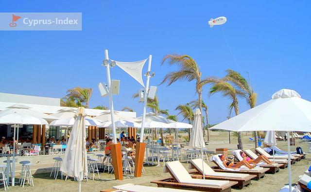 Пляж Малинди, Лимассол, Кипр