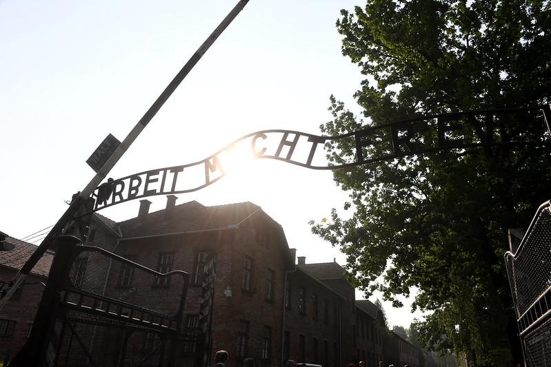 Wizyta papieża wobozie Auschwitz-Birkenau, 29 VII 2016