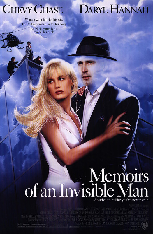 Memoirs of an Invisible Man - Poster 2