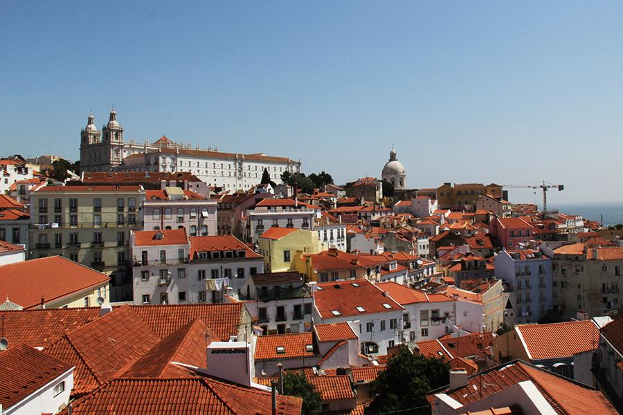Lissabon näköalapaikat Portas da Sol