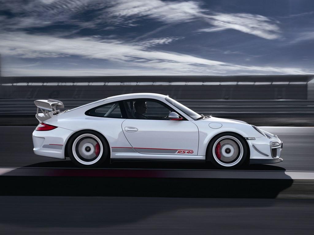 Porsche 911 GT3 RS 4.0 (кузов 997). 2011 год