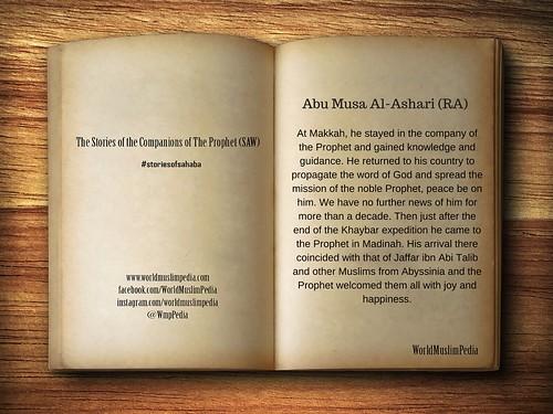 Abu Musa Al-Ashari (RA)