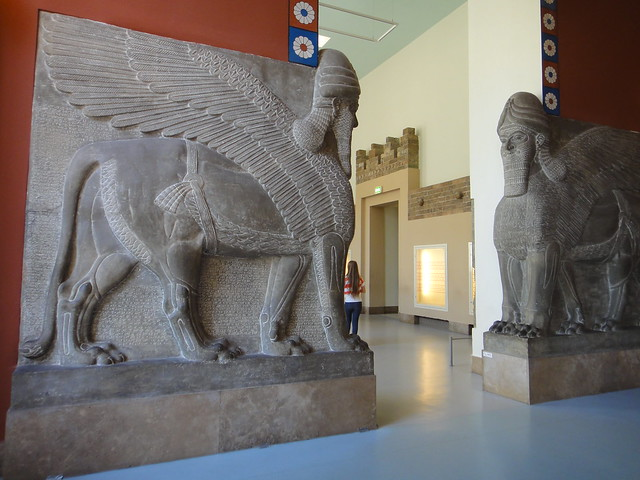 Statues in Pergamon Museum