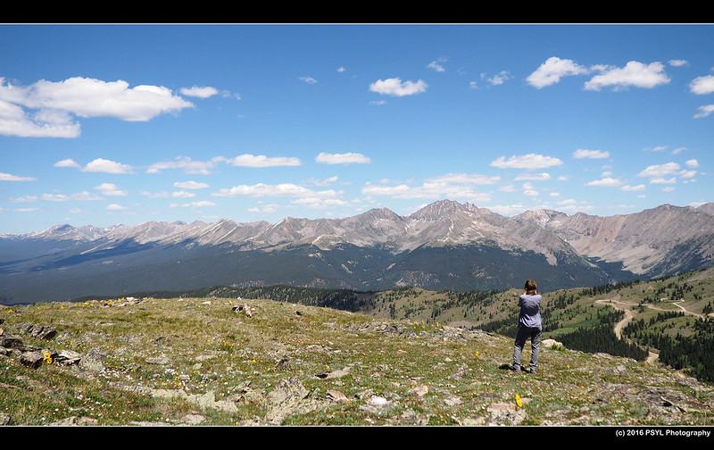 Photographer on Cottonwood Pass