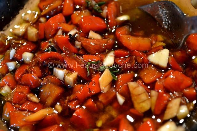 Poulet Pané au Tandoori Condiment Poivrons Grillés © Ana Luthi Tous droits réservés 001
